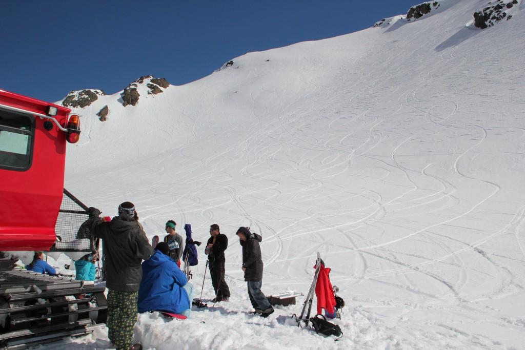 Peak Leaders Bariloche Argentina Basi Level 2 Gap Course_Baguales cat skiing 2