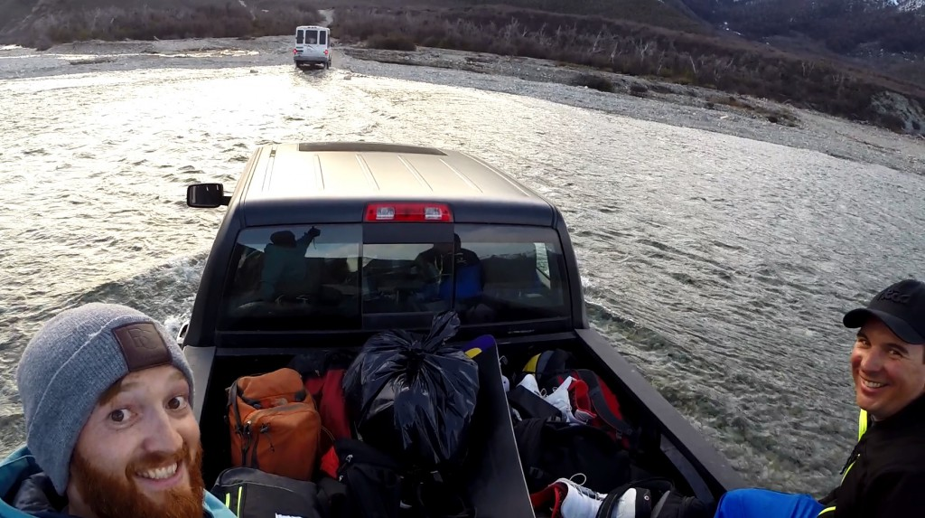 Peak Leaders Bariloche Argentina Basi Level 2 Gap Course_Baguales cat skiing pick up