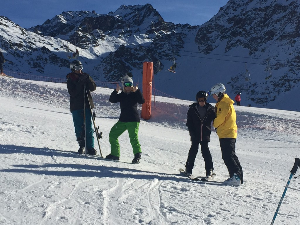 Peak Leaders 10 week ski instructor course Verbier_BASI_1